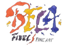 Fidel Abstract Oils and Encaustics